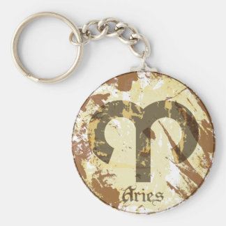 Astrology Grunge Aries Key Chain