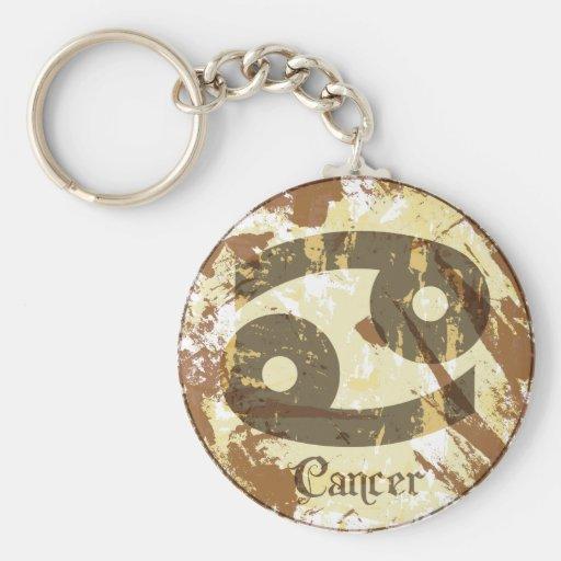 Astrology Grunge Cancer Key Chain