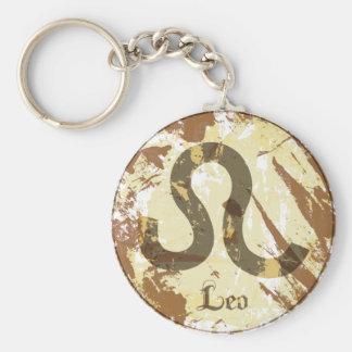 Astrology Grunge Leo Key Chain