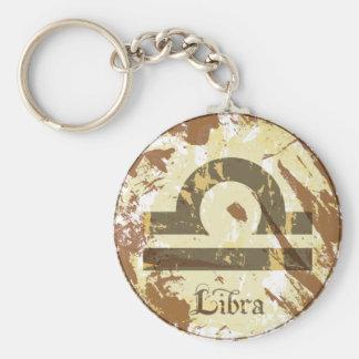 Astrology Grunge Libra Key Chain