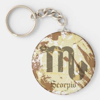 Astrology Grunge Scorpio Keychains