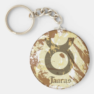 Astrology Grunge Taurus Key Chains