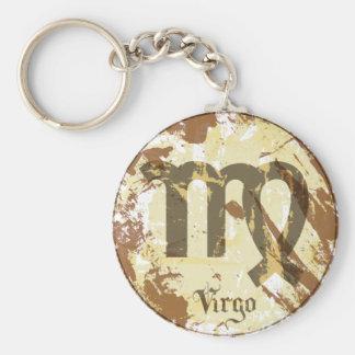 Astrology Grunge Virgo Key Chain
