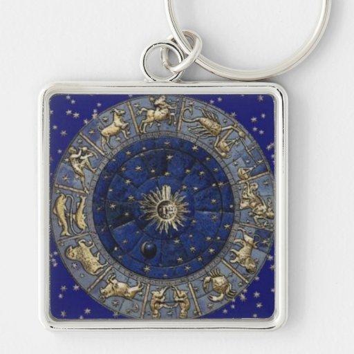 Astrology Key Chains