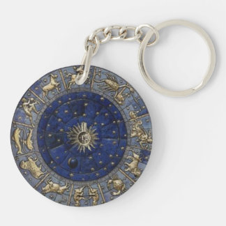 Astrology Key Chain