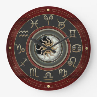 Astrology Large Clock