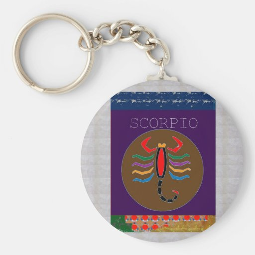 Astrology Practioner  Symbols Giveaways ZODIAC FUN Keychain
