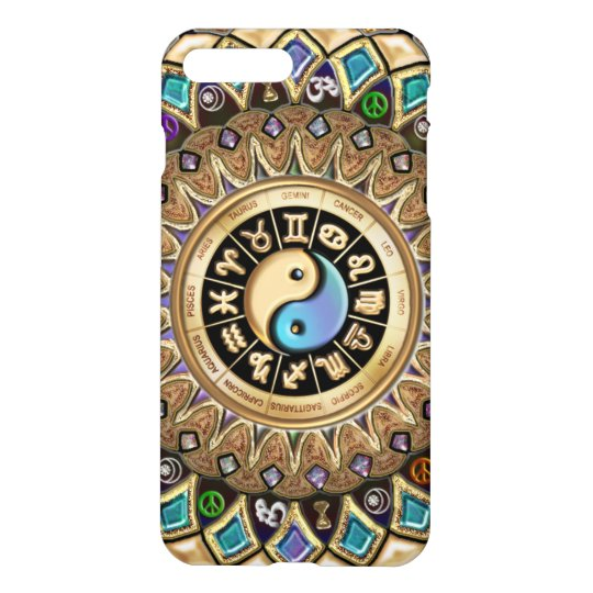 Astrology Yin Yang Mandala iPhone 7 Plus Case