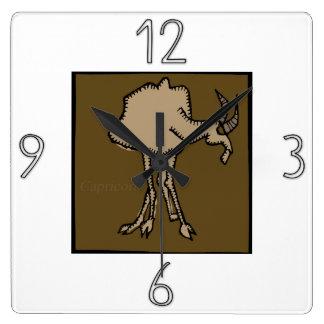 Astrology Zodiac Sign Capricorn Wall Clock