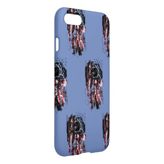 Astronaut and american flag iPhone 8/7 case