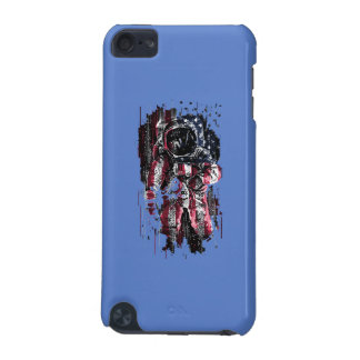 Astronaut and american flag iPod touch (5th generation) cover