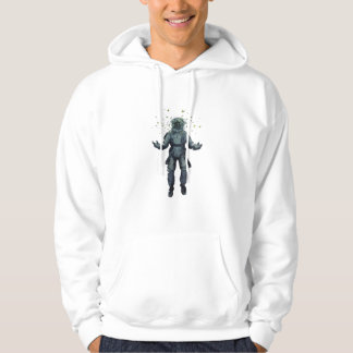 Astronaut and butterfly hoodie