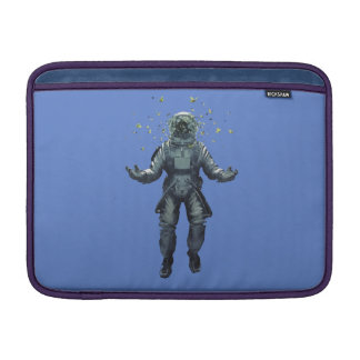 Astronaut and butterfly MacBook sleeve
