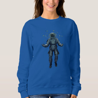 Astronaut and butterfly sweatshirt