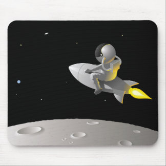 Astronaut Around the Moon, Mouse Pad
