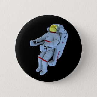 astronaut badge 2 inch round button