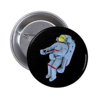 astronaut badge 2 inch round button