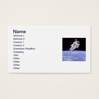 Astronaut Business Card