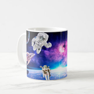 Astronaut Cats In Space Pursued Their Dream 1 Coffee Mug
