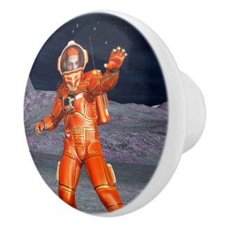 Astronaut Ceramic Knob
