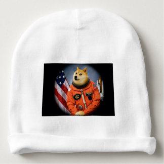 astronaut dog  - doge - shibe - doge memes baby beanie