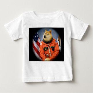 astronaut dog  - doge - shibe - doge memes baby T-Shirt