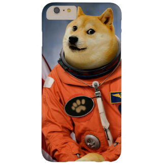 astronaut dog  - doge - shibe - doge memes barely there iPhone 6 plus case