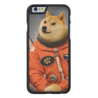 astronaut dog  - doge - shibe - doge memes carved maple iPhone 6 case