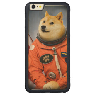 astronaut dog  - doge - shibe - doge memes carved maple iPhone 6 plus bumper case