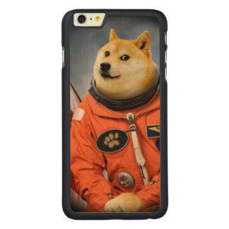 astronaut dog  - doge - shibe - doge memes carved maple iPhone 6 plus case