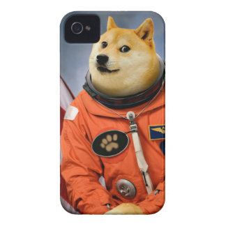 astronaut dog  - doge - shibe - doge memes Case-Mate iPhone 4 cases