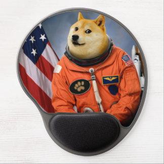 astronaut dog  - doge - shibe - doge memes gel mouse pad