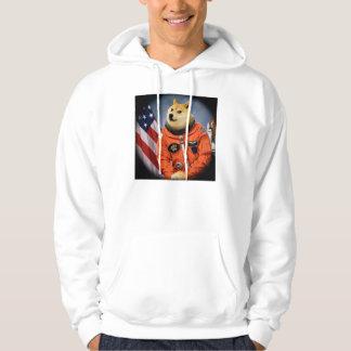 astronaut dog  - doge - shibe - doge memes hoodie