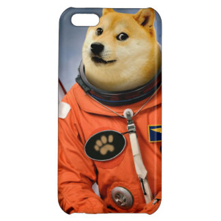 astronaut dog  - doge - shibe - doge memes iPhone 5C covers