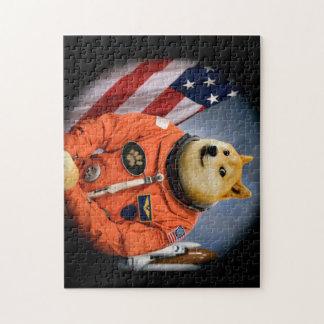 astronaut dog  - doge - shibe - doge memes jigsaw puzzle