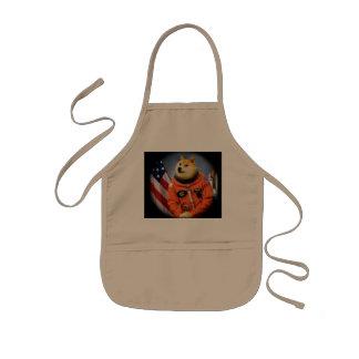 astronaut dog  - doge - shibe - doge memes kids apron