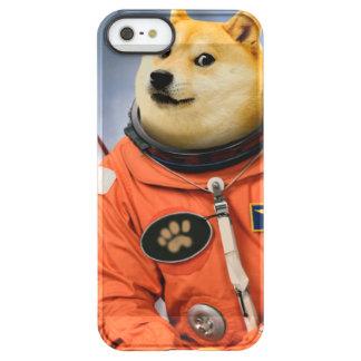 astronaut dog  - doge - shibe - doge memes permafrost® iPhone SE/5/5s case