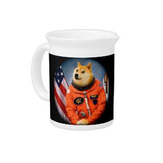astronaut dog  - doge - shibe - doge memes pitcher