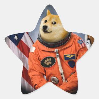 astronaut dog  - doge - shibe - doge memes star sticker