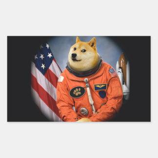 astronaut dog  - doge - shibe - doge memes sticker