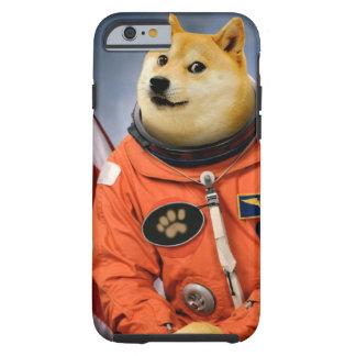astronaut dog  - doge - shibe - doge memes tough iPhone 6 case