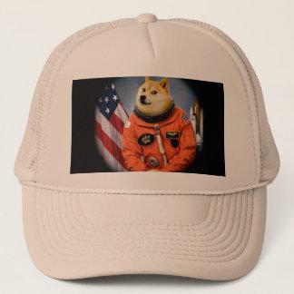 astronaut dog  - doge - shibe - doge memes trucker hat