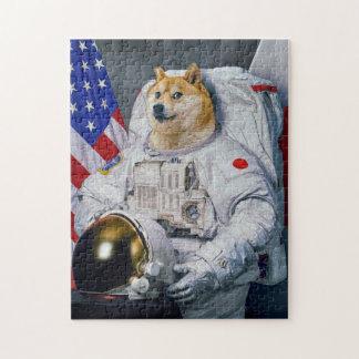 Astronaut Doge Puzzle