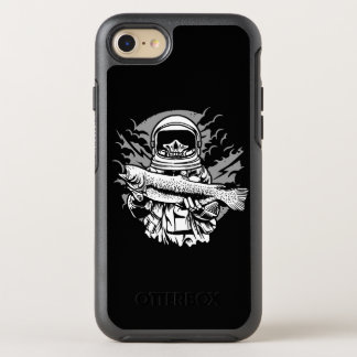 Astronaut Fishing Otterbox Phone Case