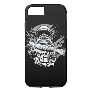Astronaut Fishing Tough Phone Case