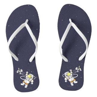 Astronaut Flip Flops