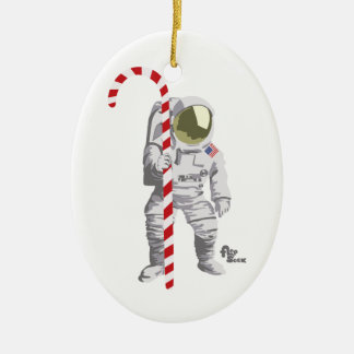 Astronaut Holiday Ornament