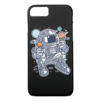 Astronaut Ice Cream Glossy Phone Case