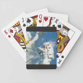 Astronaut in space._Space Playing Cards