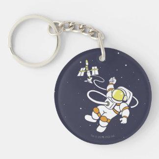 Astronaut Keychain